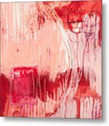 Red. 4 Metal Print by Marie Tosto