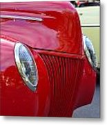 Red 40 Ford Metal Print