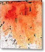 Red Abstract Art - Taking Chances - By Sharon Cummings Metal Print