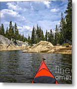 Red And Beyond Metal Print
