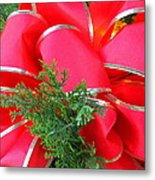 Red And Greens Metal Print