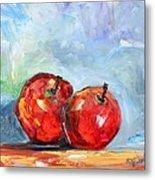 Red Apples Metal Print