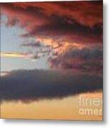 Red Arizona Sky Metal Print