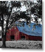 Red Barn 2 Metal Print