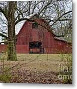 Red Barn Series Picture A Metal Print