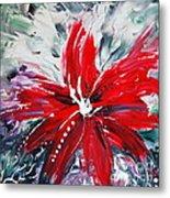 Red Beauty Metal Print by Teresa Wegrzyn