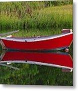 Red Boat Metal Print