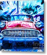Red Buick  Metal Print