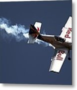 Red Bull - Aerobatic Flight Metal Print