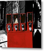 Red Candy Metal Print