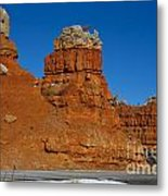Red Canyon Dixie National Forest Metal Print