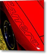 Red Carrera Metal Print by Phil 'motography' Clark