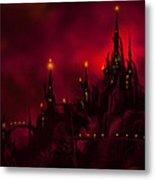 Red Castle Metal Print