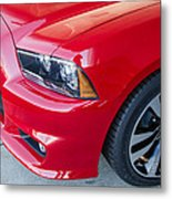 Red Charger 1508 Metal Print