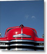 Red Chevrolet 3100 1953 Pickup  Metal Print
