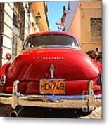 Red Chevrolet Metal Print
