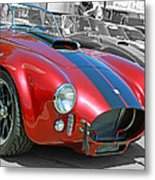 Red Cobra Metal Print
