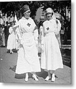 Red Cross Parade, 1918 Metal Print