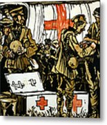 Red Cross Poster, 1915 Metal Print