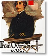 Red Cross Poster, C1919 Metal Print
