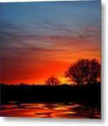 Red Dawn Metal Print