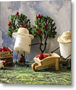 Red Delicious Metal Print