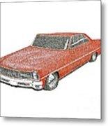 Red Desire Metal Print