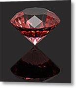 Red Diamond Ruby Metal Print