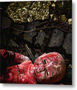Red Doll Metal Print