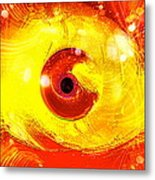 Red Eye Metal Print