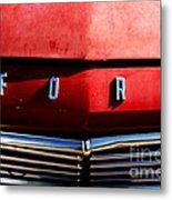 Red Ford 1 Metal Print