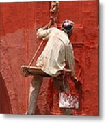 Red Fort Painter Metal Print