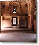 Red Fort Agra India Metal Print