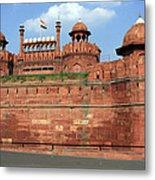 Red Fort New Delhi India Metal Print
