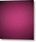 Red Fractal Background Metal Print