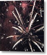Red Glare Metal Print