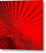 Red Glass Abstract 7 Metal Print