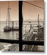 Red Hook Window Metal Print