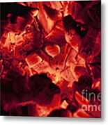 Red Hot Love Metal Print
