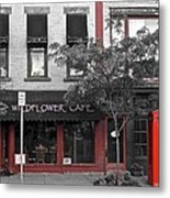 Red Is The Color Of The Day Metal Print