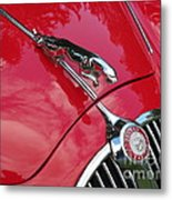 Red Jaguar 3.8 Metal Print