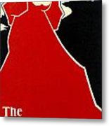 Red Lady The Chap Book1895 Metal Print