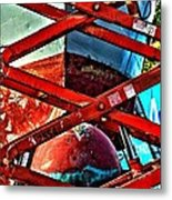 Red Lift Metal Print