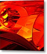 Red Light Metal Print by Wendy J St Christopher