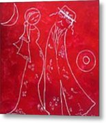 Red Love Metal Print