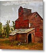 Red Mill Montana Metal Print