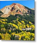 Red Mountain Metal Print