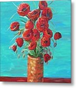 Red On My Table  Metal Print