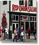 Red Onion Saloon Metal Print