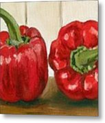 Red Pepper Metal Print